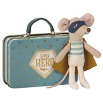 maileg Maileg - Super Hero - Little brother in a suitcase