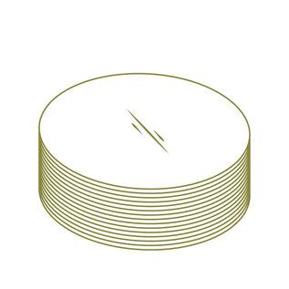 Natureflex NP en différentes tailles de rondelles (per 100.000)