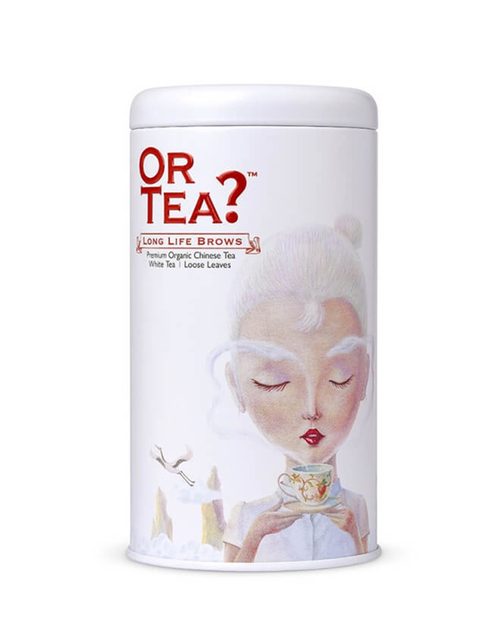 Or Tea? Long Life Brows - Silver Needle witte thee