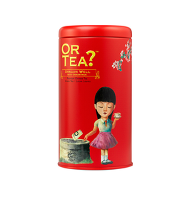 Or Tea? Dragon Well met osmanthus - Tin Canister