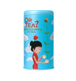 Or Tea? Natural Tea Blossoms - Tin Canister