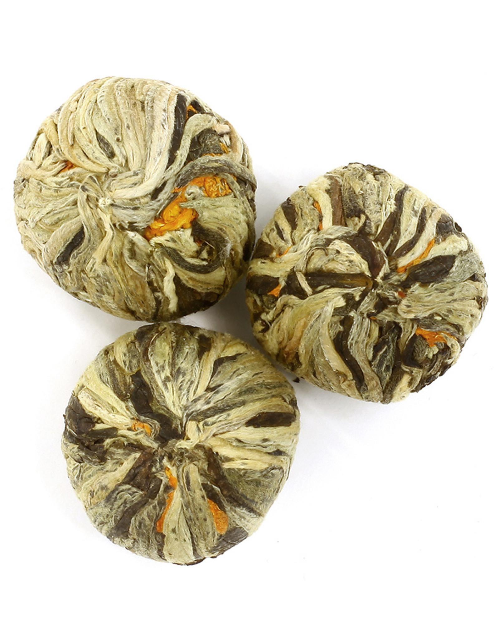 Or Tea? Natural Tea Blossoms - Groene thee met goudsbloem