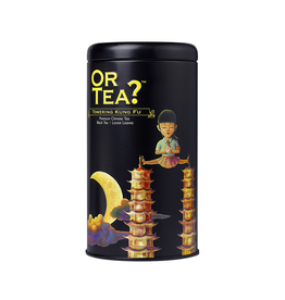 Or Tea? Towering Kung Fu -Tin Canister