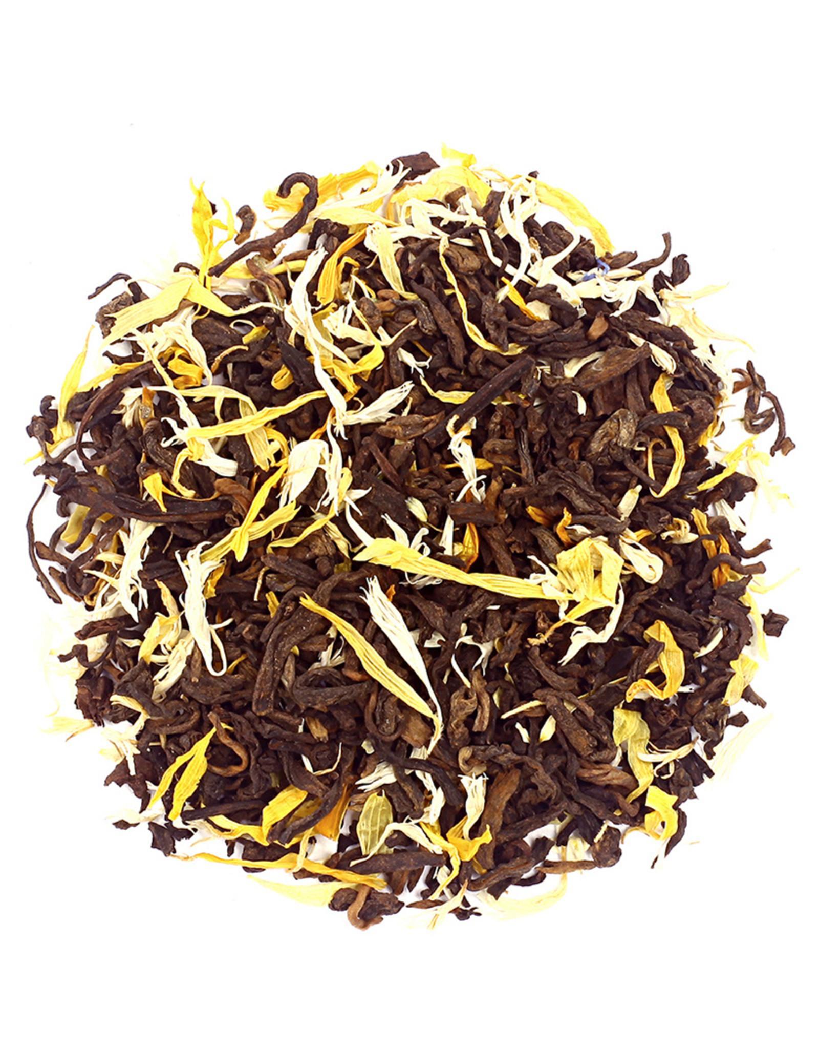 Or Tea? Slimming Pu'er - Pu'er thee met bloemblaadjes