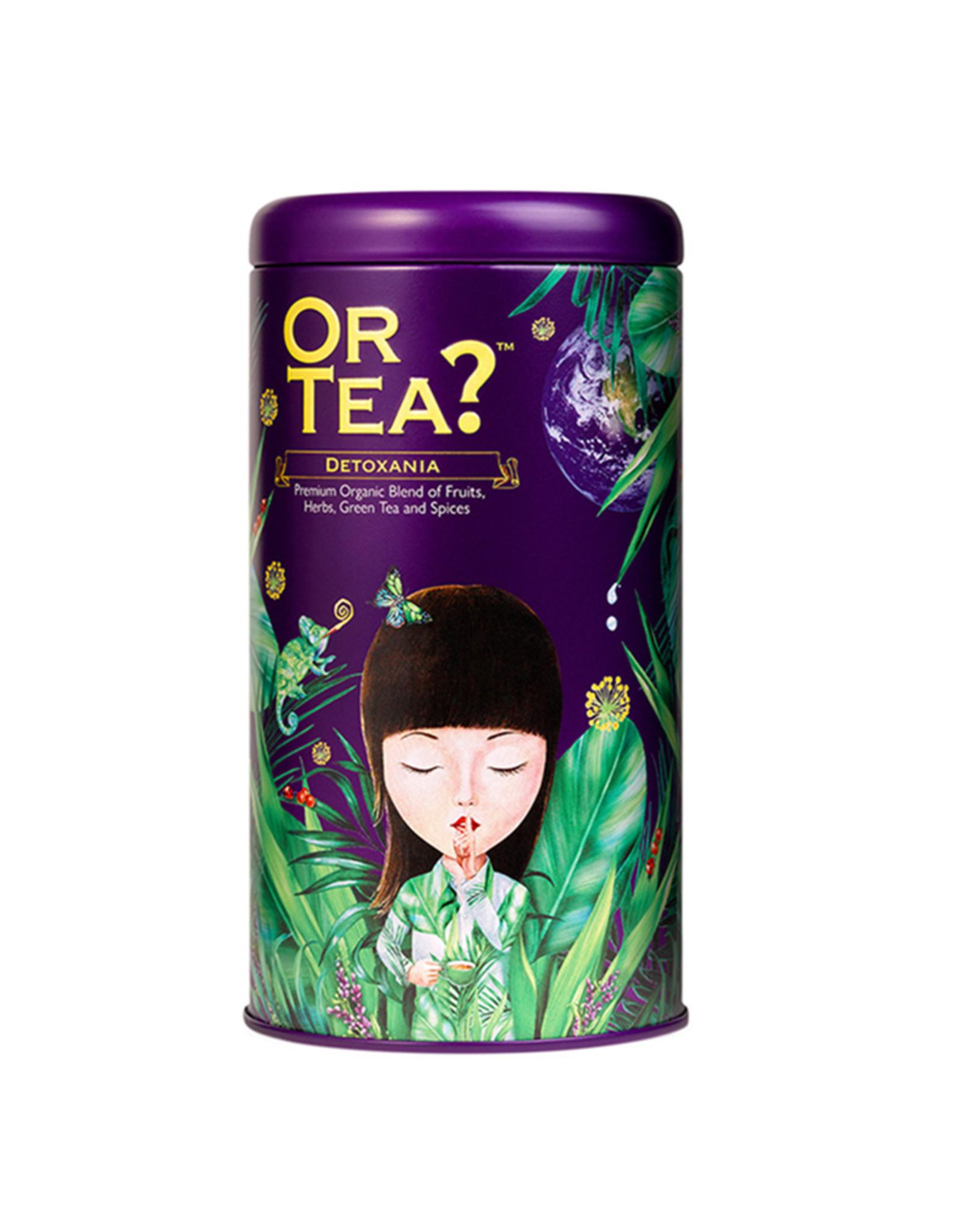Or Tea? Detoxania BIO - Detox groene thee met kurkuma