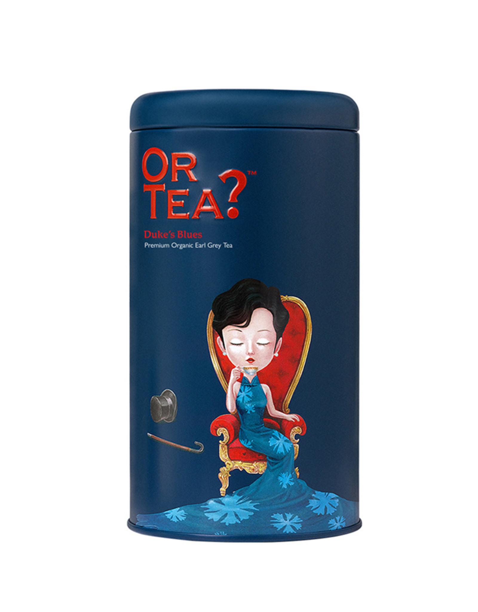 Or Tea? Duke's Blues BIO - Earl Grey Blue Flower