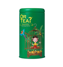 Or Tea? TropiCoco BIO - Tin Canister