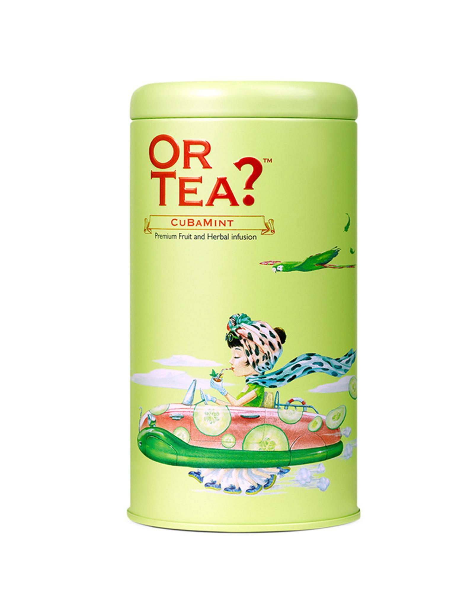 Or Tea? CuBaMint - Infusie van komkommer, basilicum en munt