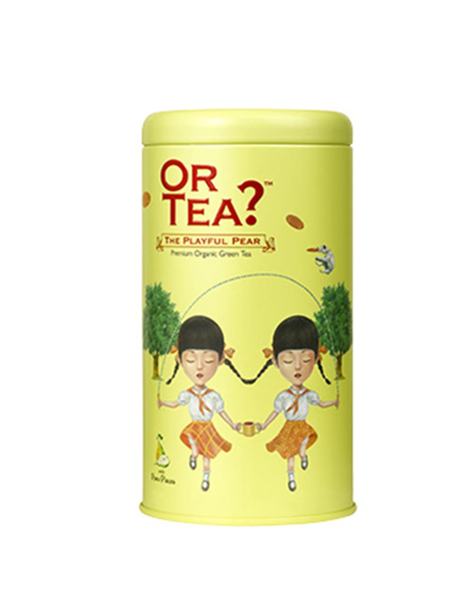 Or Tea? The Playful Pear - Groene thee met peer