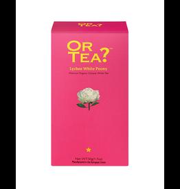 Or Tea? Lychee White Peony BIO - Refill