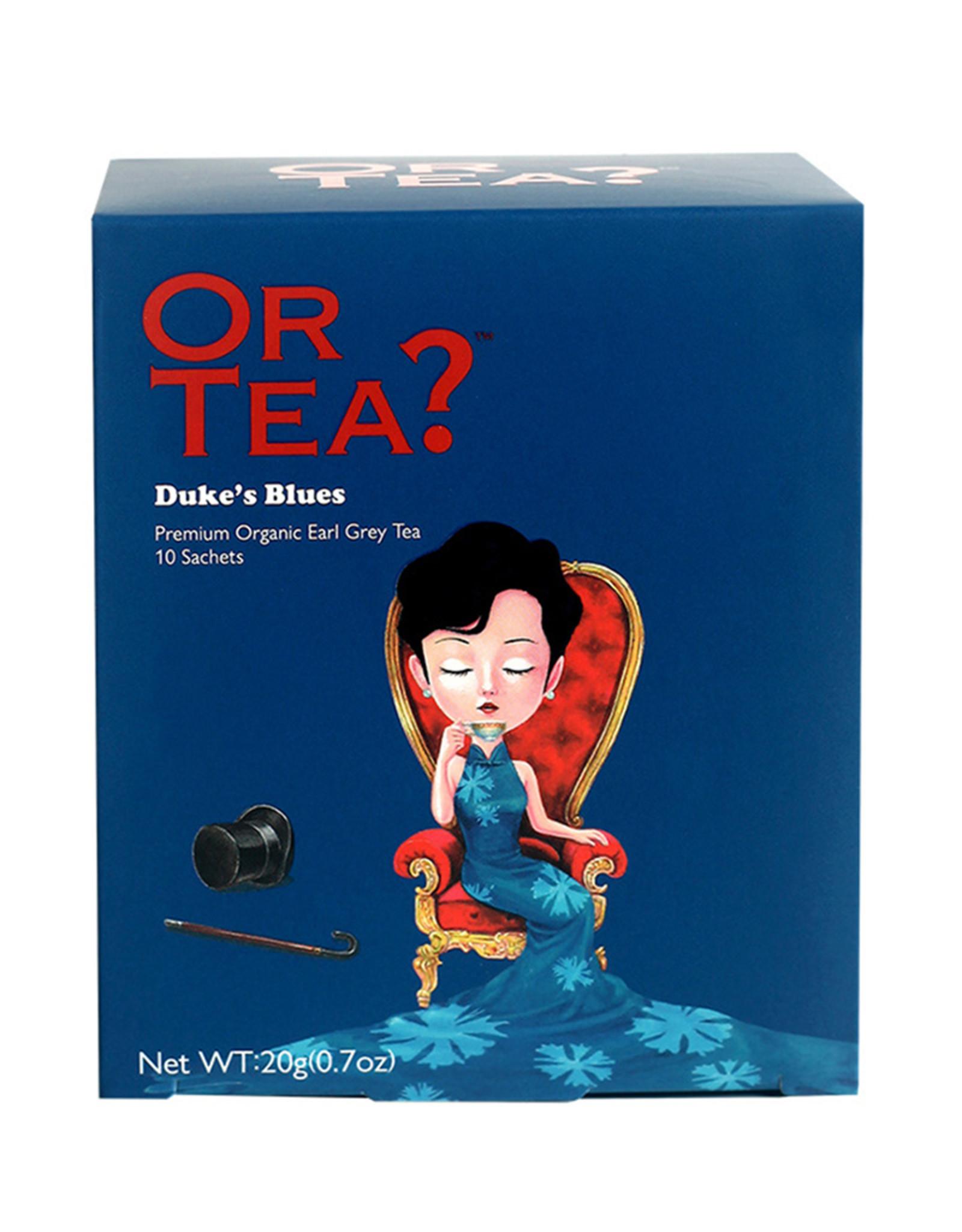 Or Tea? Duke's Blues - Earl Grey Blue Flower