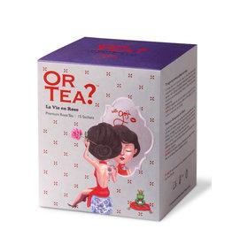 Or Tea? La Vie en Rose - Theebuiltjes - 15 st