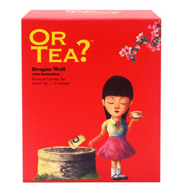 Or Tea? Dragon Well met osmanthus - Theebuiltjes -15 st