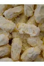 Schilfertruffels in melk, fondant, wit of assorti