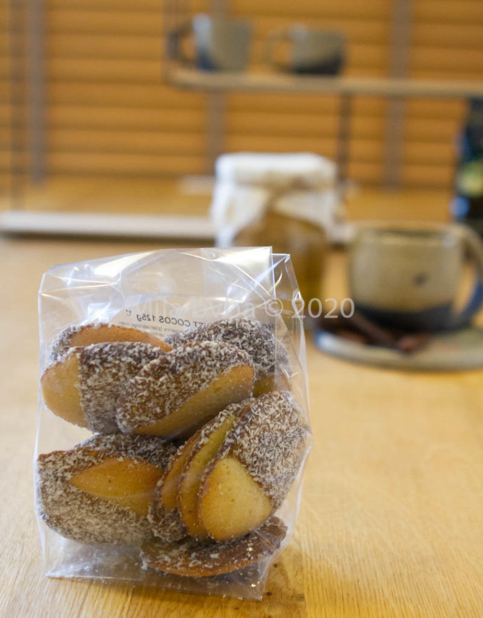Ambachtelijk gebakken koekjes - Choco Tours coco  - 125 gr