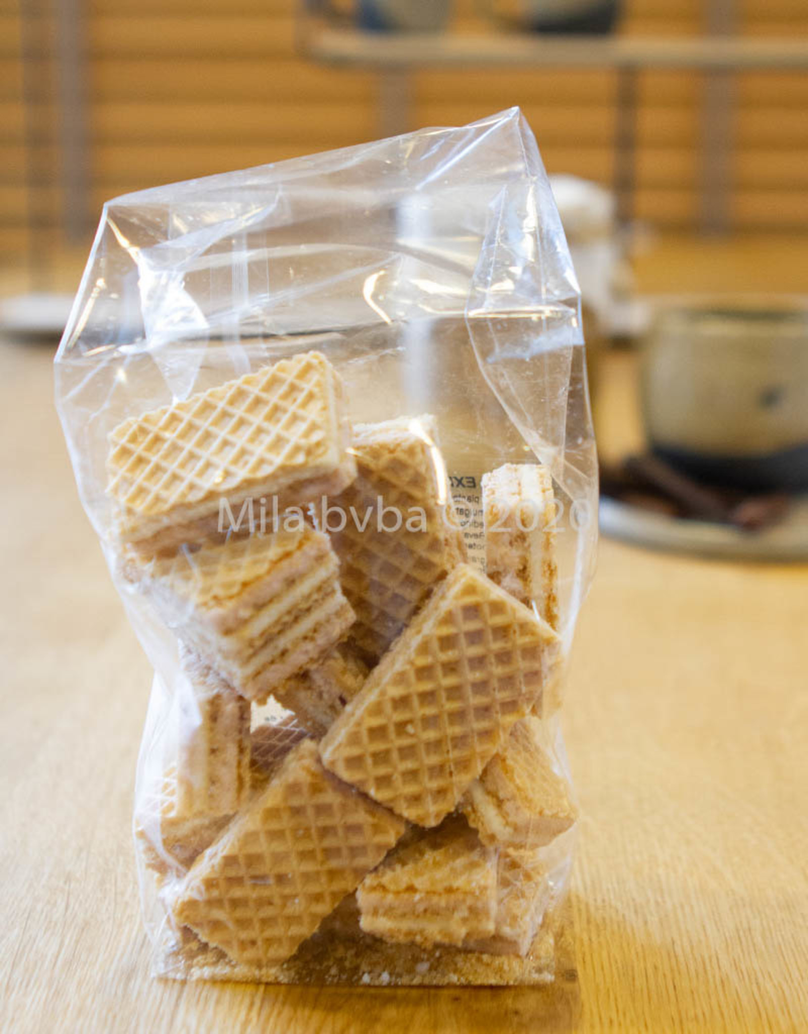 Ambachtelijk gebakken koekjes - Expo wafels  - 125 gr