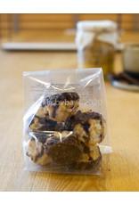 Ambachtelijk gebakken koekjes - Rochers met chocolade  - 125 gr