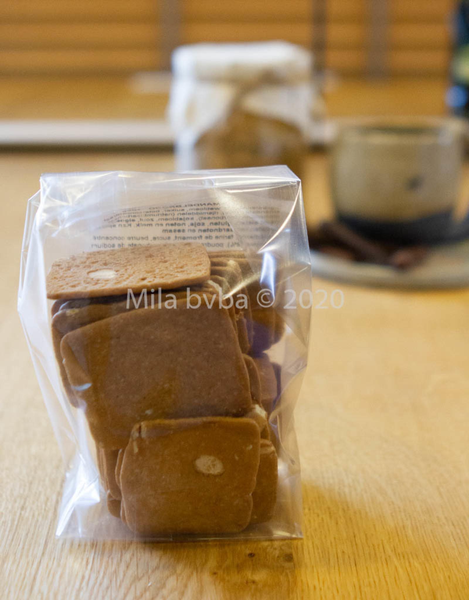 Ambachtelijk gebakken koekjes - Amandelbrood  - 125 gr