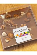 Tablet melk chocolade met notenmix - stevia gezoet - Copy