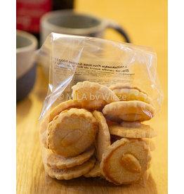 Suikervrije vanille koekjes 100 gr