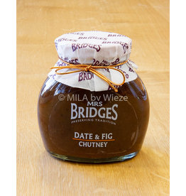 Mrs Bridges Dadels en vijgen chutney