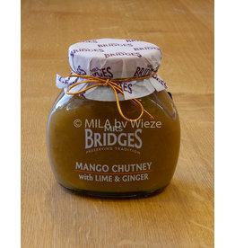 Mrs Bridges Mango, limoen en gember chutney
