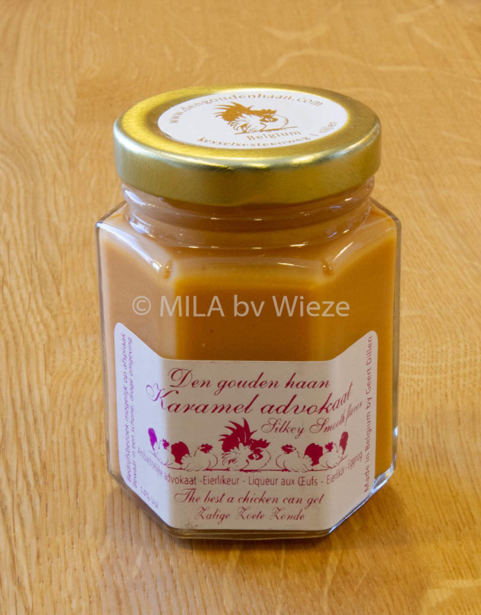 Advocaat Den gouden haan - 125 ml Caramel