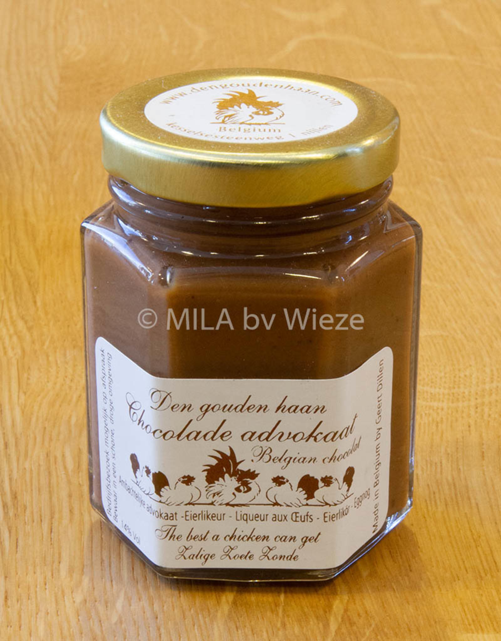 Advocaat Den gouden haan - 125 ml Chocolade