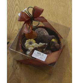 MILA Chocolade cup met herfstpralines - klein