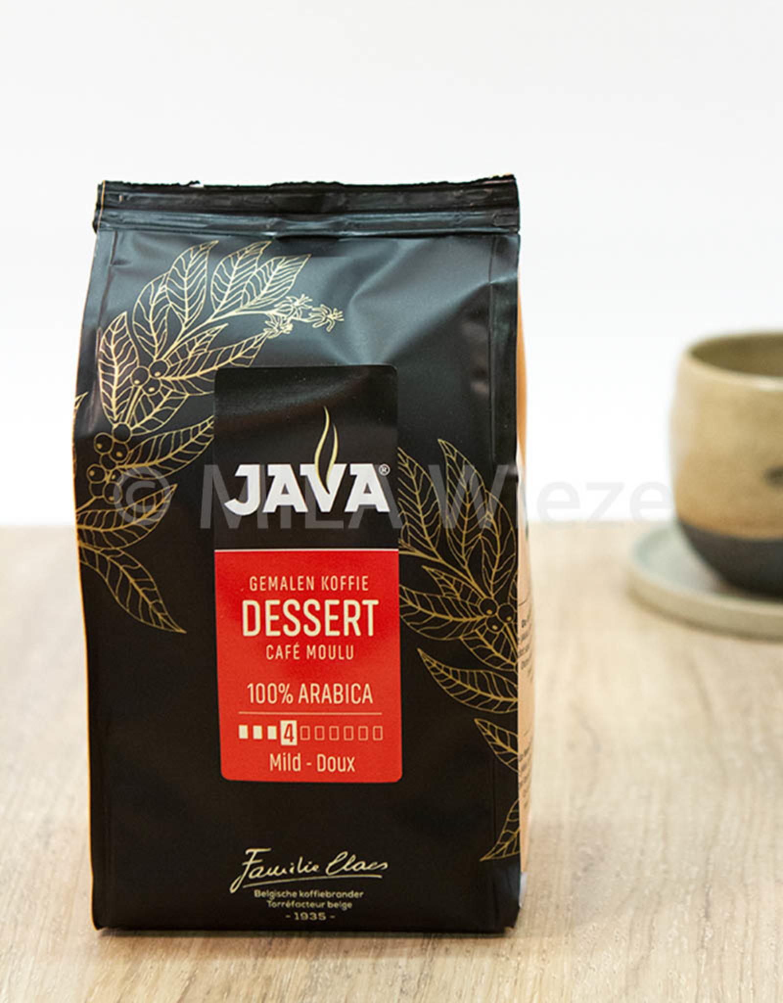 Dessert koffie - Java - gemalen - 250 gr