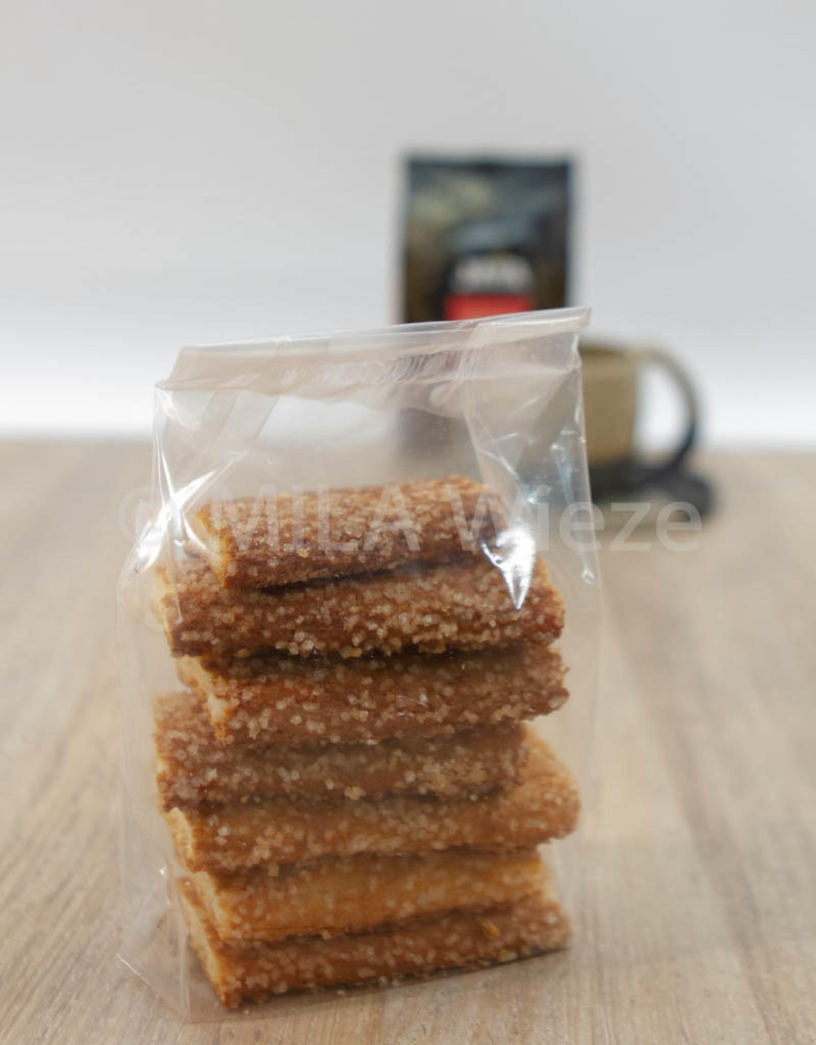 Ambachtelijk gebakken koekjes - Pain à la Greque - 125 gr