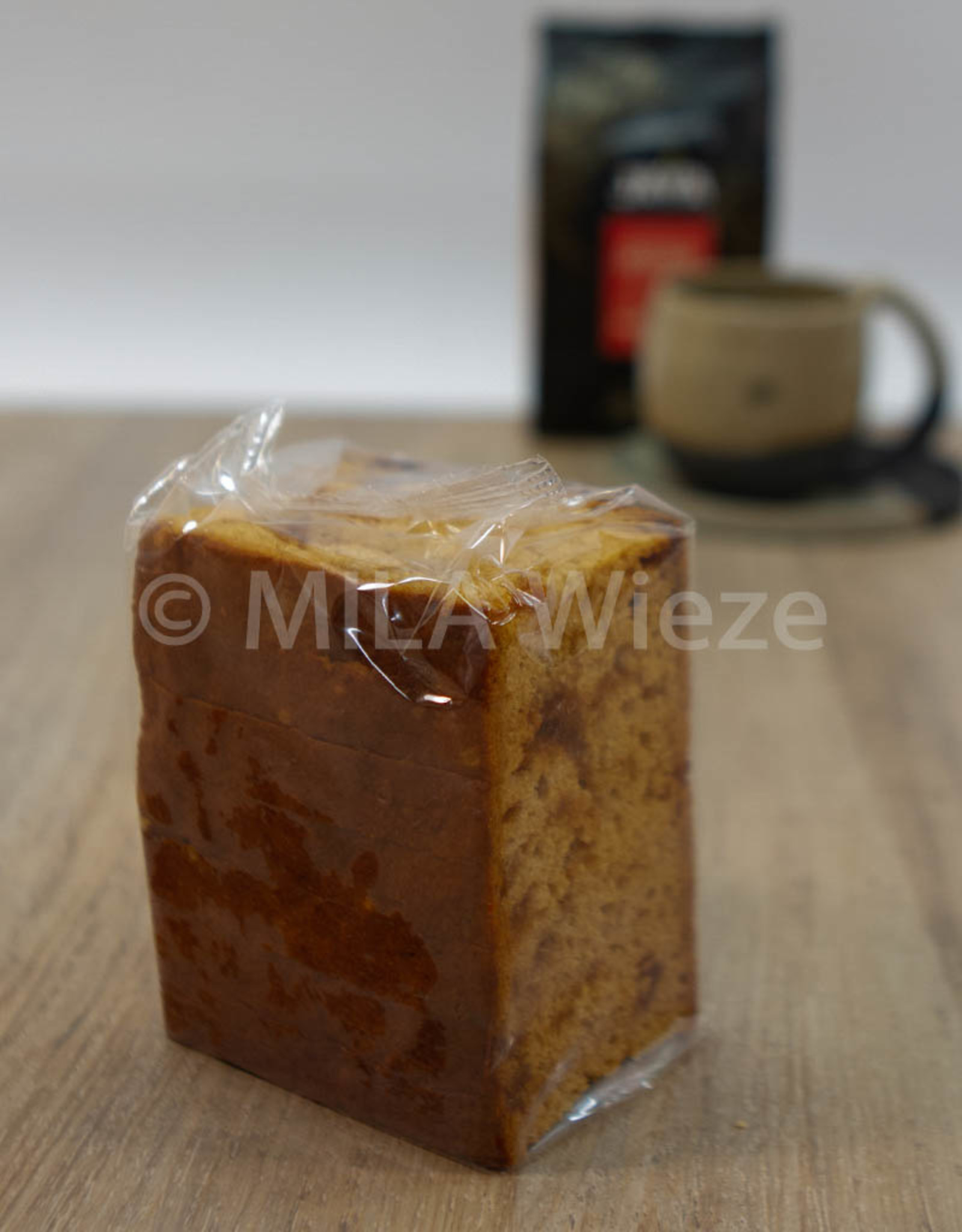 Ambachtelijk gebakken peperkoek caramel/zeezout - 220 gr