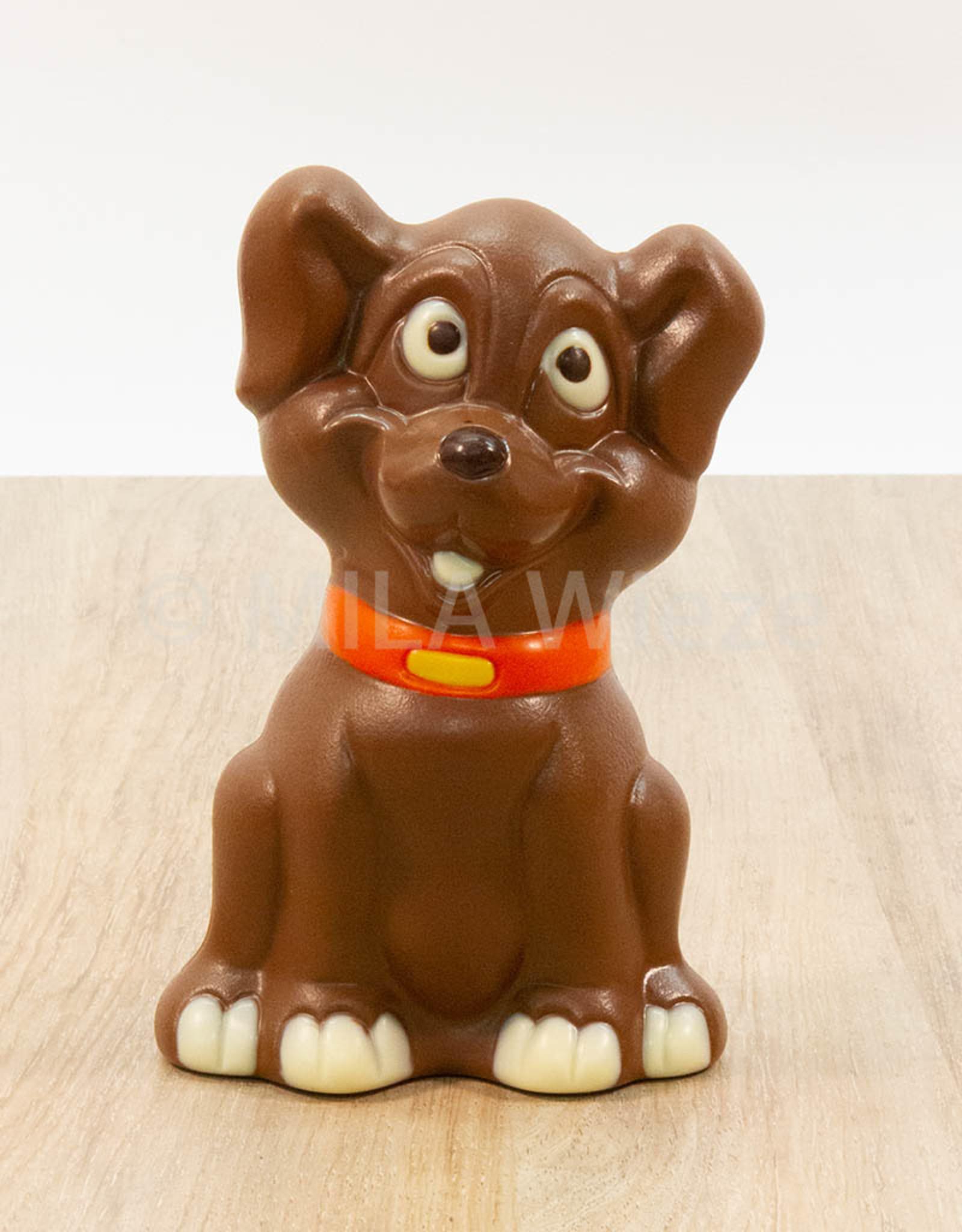 Disney hond deco - 150 gr - melkchocolade