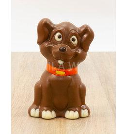 Disney hond deco - 150 gr - Callebaut chocolade