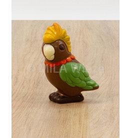 Papegaai deco - 50 gr - Callebaut chocolade