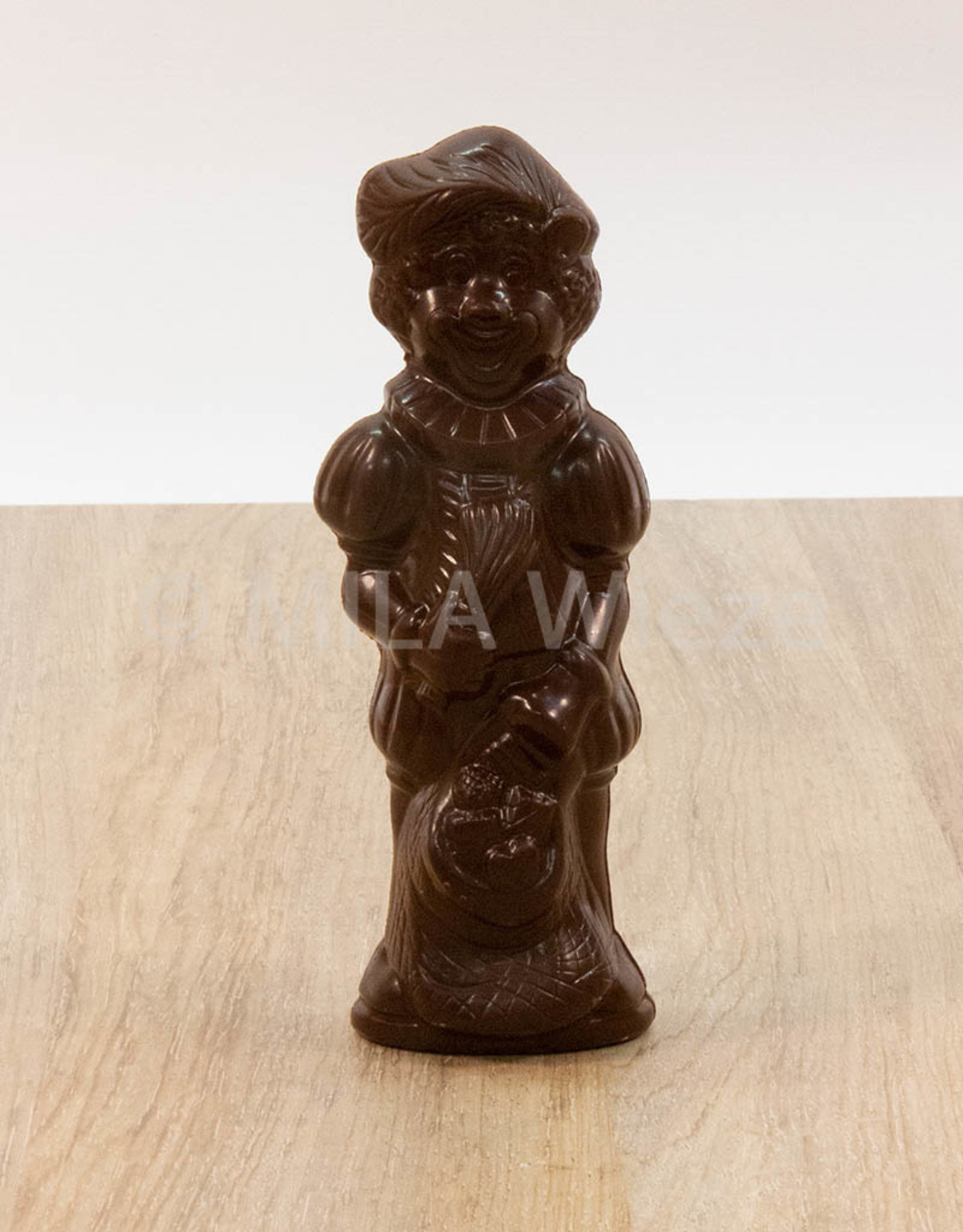 Lachende piet - 90 gr - 18 cm - melkchocolade of fondant chocolade