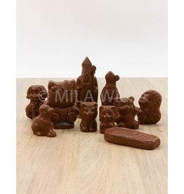 Lactosevrije sinterklaasfiguren -  Callebaut chocolade