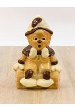 Pinokkio deco in melkchocolade - 255 gr - 19,5 cm - melkchocolade - Copy