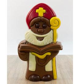 Sint met open boek - 1 kg - Callebaut chocolade