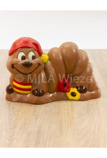 Rups - 360 gr - 21,5 cm - Callebaut chocolade