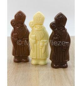 Lachende sint - 50 gr - Callebaut chocolade