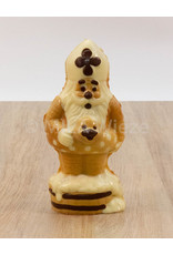 Sint met zwembandje deco - 165 gr - 18 cm - melkchocolade - Copy - Copy