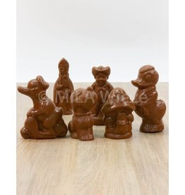 Suikervrije sinterklaasfiguren -  Callebaut chocolade