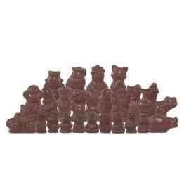 Sinterklaasfiguren - Doos 2 kg -  Callebaut chocolade