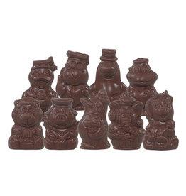 Piepfiguren van Sinterklaas- Doos 1,5kg - Callebaut chocolade