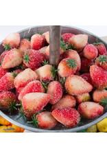 Marsepein aardbeien - 150 gr