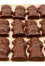 Suikervrije Sint en Piet met praliné vulling - 10 stuks