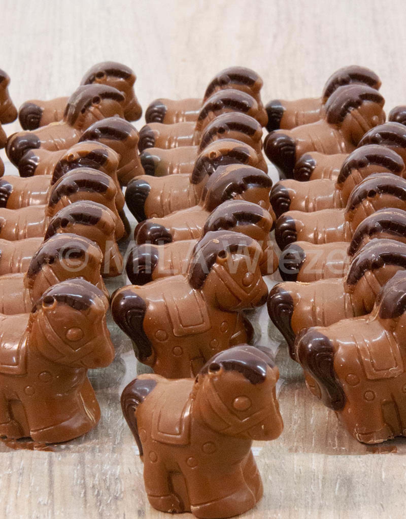 Paardje met praliné vulling - 7 stuks