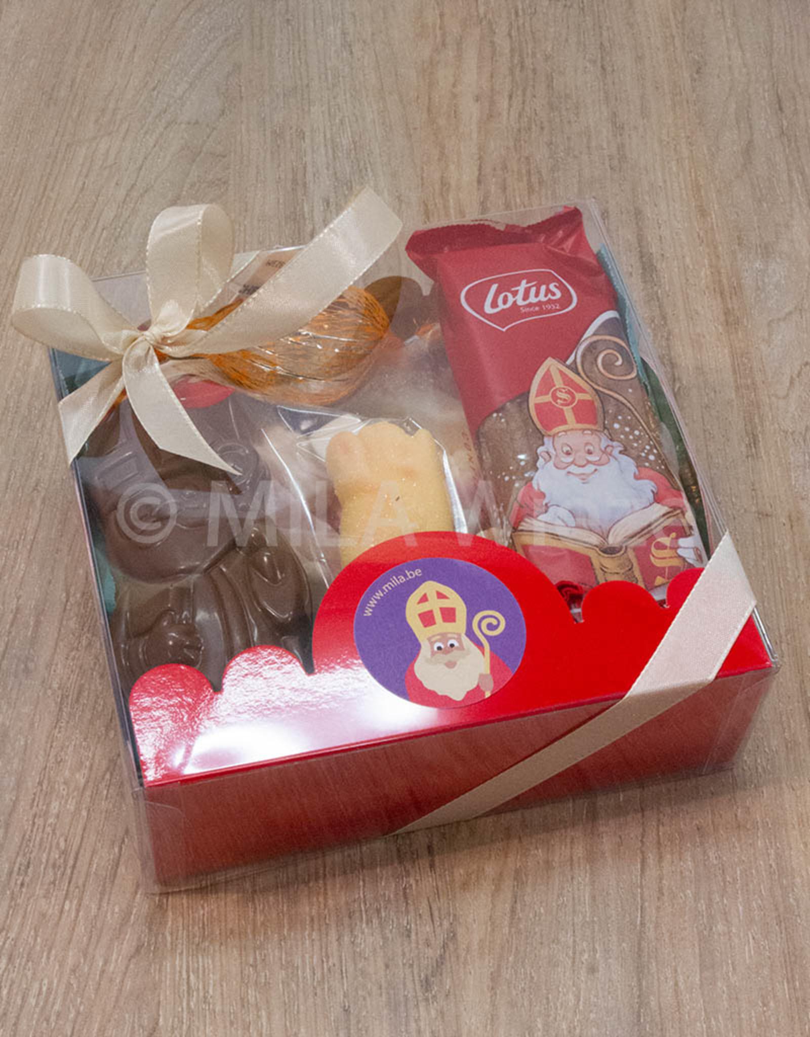 Mica doos met snoepgoed van de Sint