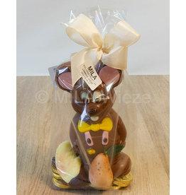 Jack of Lizzy de muis met snoepgoed.